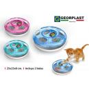 macskák játék 2 golyó 25 cm ufo