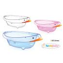 wholesale Shower & Bath: bathtub inf transparent duck 43lt formybaby