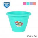 wholesale Plants & Pots: flowerpot 14cm squares colors