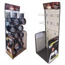 Großhandel Elektroinstallation: Aufsteller Metall 2000x760cm 12 Haken
