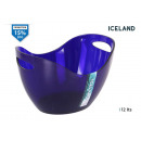vödör ps 12lts. kék Izland