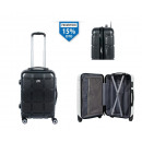 mayorista Maletas y articulos de viaje: maleta cabina carbon 57x38x23cm viro