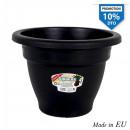 wholesale Garden & DIY store: flowerpot 18cm squares black