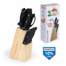 wholesale Knife Sets: set of 15 pieces: knives + wooden tacoma