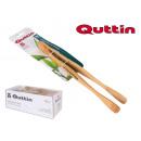 pinzas bambú 27cm quttin