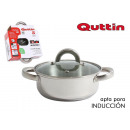 steel pan ind 20cm / 2.5l / 0.8mm + top qutt