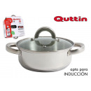 wholesale Household & Kitchen: stainless steel pan 30cm / 8l / 0.8mm + cover qutt