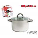 wholesale Household & Kitchen: pot steel ind 18cm / 3l / 0,8mm + top quttin caes