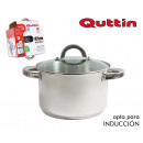 wholesale Household & Kitchen: stainless steel pot 24cm / 7l / 0.8mm + lid quttin