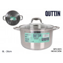 26cm /8l/0.8mm + induction steel pot with t new
