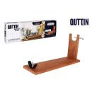 groothandel Stationery & Gifts: houten hamstandaardbank 2 gaten quttin