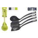 set of 4 colorful quttin nylon utensils