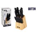 Großhandel Messersets: Set von 14 Stück Tacoma + Messer schwarz