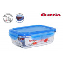 rectangular lunch box with airtight lid new blue1