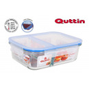 wholesale Lunchboxes & Water Bottles: rectangular lunch box 2 compartments 23.5x17.7x7.6