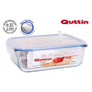 lunch box rectc / lid herm 23x175cm quttin