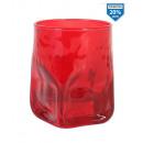 vaso quartz 330ccm rojo