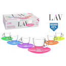 wholesale Licensed Products: set of 6 cups 95ccm with plat co
