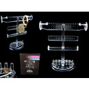 wholesale Business Equipment: Acrylic jewelry stand 27.5x23.5 cm