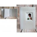 Album fotografico 15x10 cm crema con cornice (per