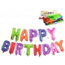 nagyker Parti kellékek: Lufi készlet Happy Birthday (betű - 35 cm)