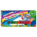 Bambino plasztilin 12 szín, beleértve a 2 szín Bro