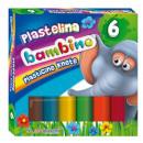 Bambino gyurma 6 színben