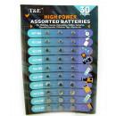 wholesale Batteries & Accumulators: Batteries set of 30 blister pieces