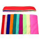 Crepe paper, crepe paper set of 10 pieces