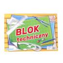 Bloc technique A3 blanc standard - 1 pièce