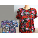 wholesale Shirts & Blouses: Blouse, womens  shirt colorful universal flowers