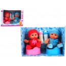 Bobasy set 2 pezzi + accessori giocattoli per bamb