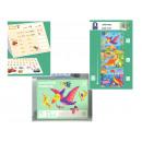 Boîte de puzzle dinosaure pour enfants de 3,5 ans