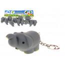nagyker Kulcstartók: Kulcstartó, elefánt medál 5x3 cm - 1 darab