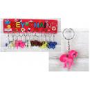 Porte-clés poney, 4 cm, mélange de couleurs - 1 pi