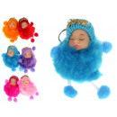 wholesale Gifts & Stationery: Pompon doll knob with handles, 9.5x5 c feet