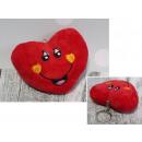 Kulcstartó kabalája szív egy mosolygó arccal 9,5 c