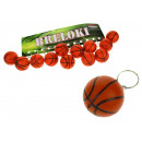 nagyker Sport és szabadidő: Kulcstartó kosárlabda labda 4 cm - 1 darab