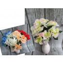 wholesale Artificial Flowers: A bouquet of five hydrangea flowers 30 cm