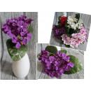 Großhandel Kunstblumen: Ein Bouquet von 20 cm Primel