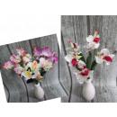 Großhandel Kunstblumen: Orchid  Blumenstrauß schwenkte 5 36 cm