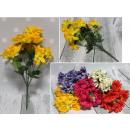 Bouquet di gerber mix di 10 fiori (altezza 49 cm,