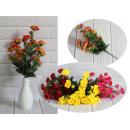 Piccolo mazzo di crisantemi 12 steli (altezza 39 c