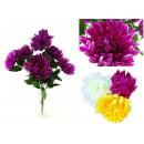 nagyker Otthon és dekoráció: Pompon krizantém csokor virág 7