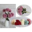 Mazzo di fiori di crisantemo pastello pompon di 6