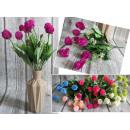 grossiste Décoration: Bouquet  dmucchawce, ail (9  fleurs, hauteur 40 ...