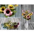 wholesale Home & Living: Fine bouquet 7 stems of 21 flowers with ...