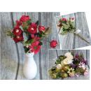 Bouquet petit assorti rose daisy - (alt. 32 cm