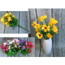 wholesale Home & Living: A bouquet of tiny daisies 7 stems, 14 flowers (h.