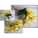 Bouquet fine lucido (altezza 30 cm, 5 gambi, k